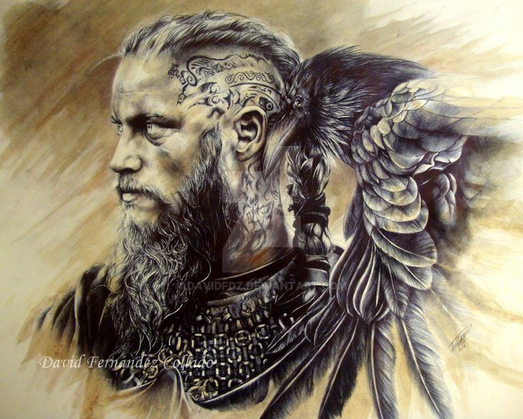 Ragnar Lodbrok by DavidFDZ