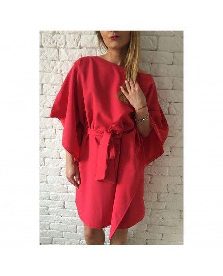 Sukienka FLY red - Daga Look Fashion