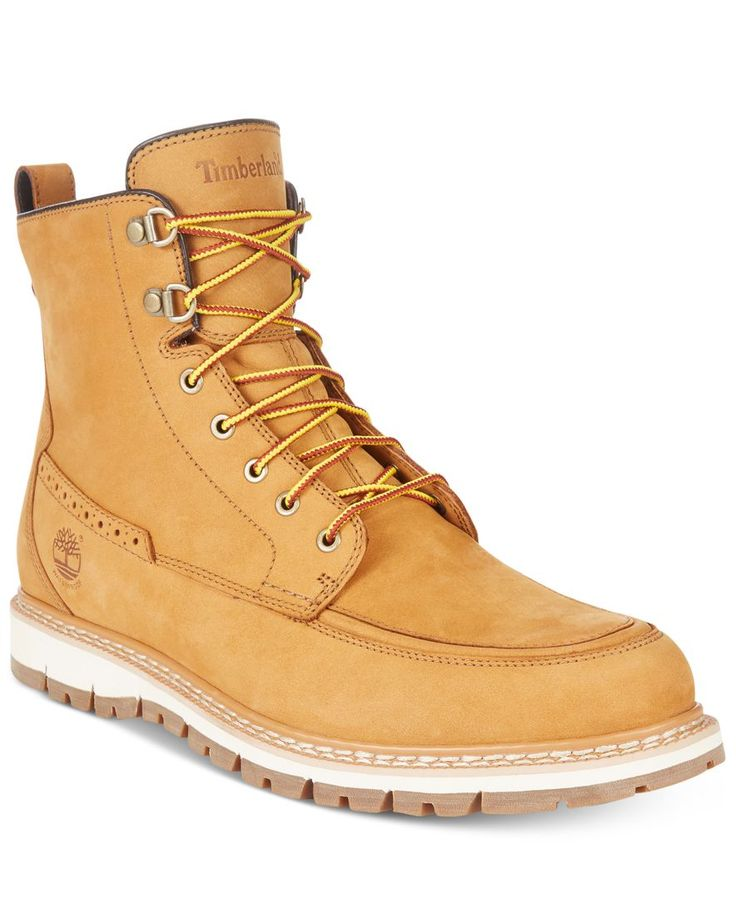 Timberland Men's Britton Hill Waterproof Nubuck Boots