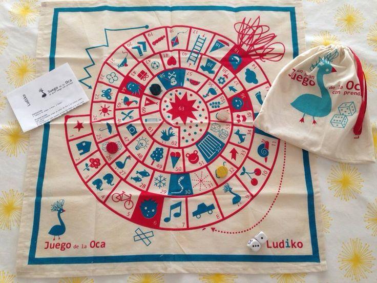24 best juguetes de tela images on pinterest fabric toys game of and mesas - La oca juego de mesa ...