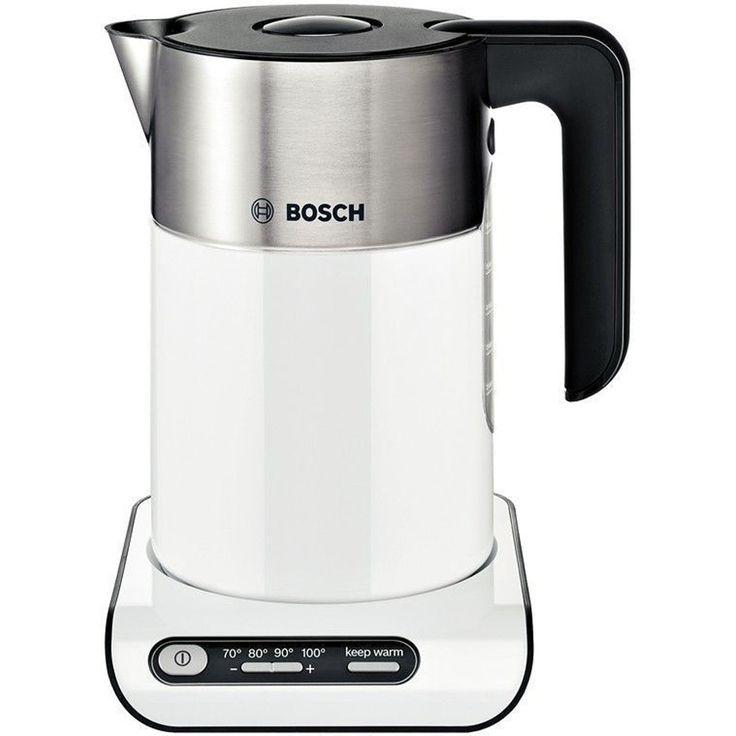 Bosch Styline TWK8631GB 1.5 Litre Cordless Electric Kettle - White