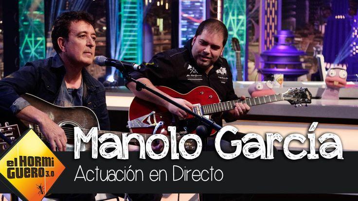 Manolo García toca en directo en El Hormiguero 3.0