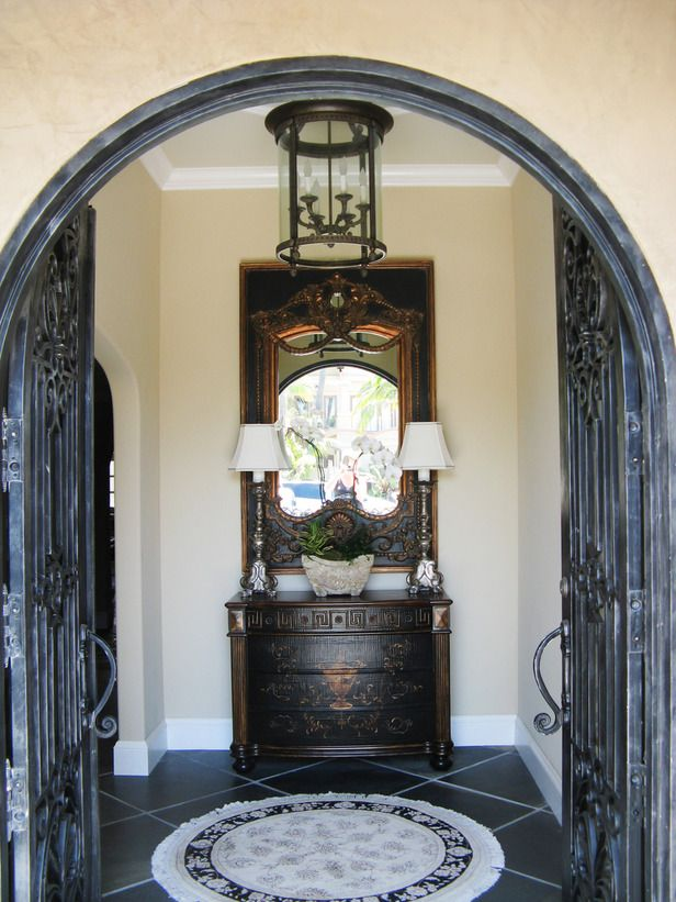 Beautiful Tuscan Style Entry Doors
