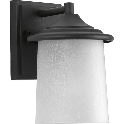 p605931 essential black onelight 6inch outdoor wall lantern