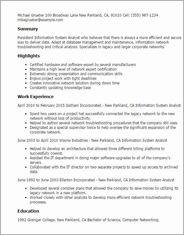 Business Analyst Resume Entry Level Inspirational Entry Level Business Analyst Resume Proposal Surat Tulisan