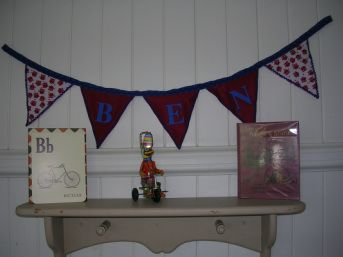 Bunting By Name- For the Bedroom