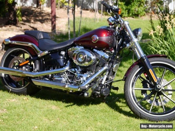 Harley Davidson 2015 FXSB softail breakout motorcycle #harleydavidson #fxsbbreakout #forsale #australia #harleydavidsonsoftailbreakout