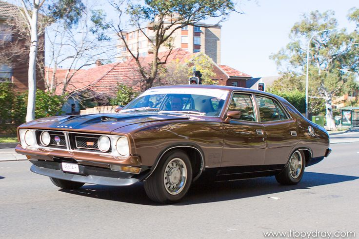 Vintage Ford XB GT
