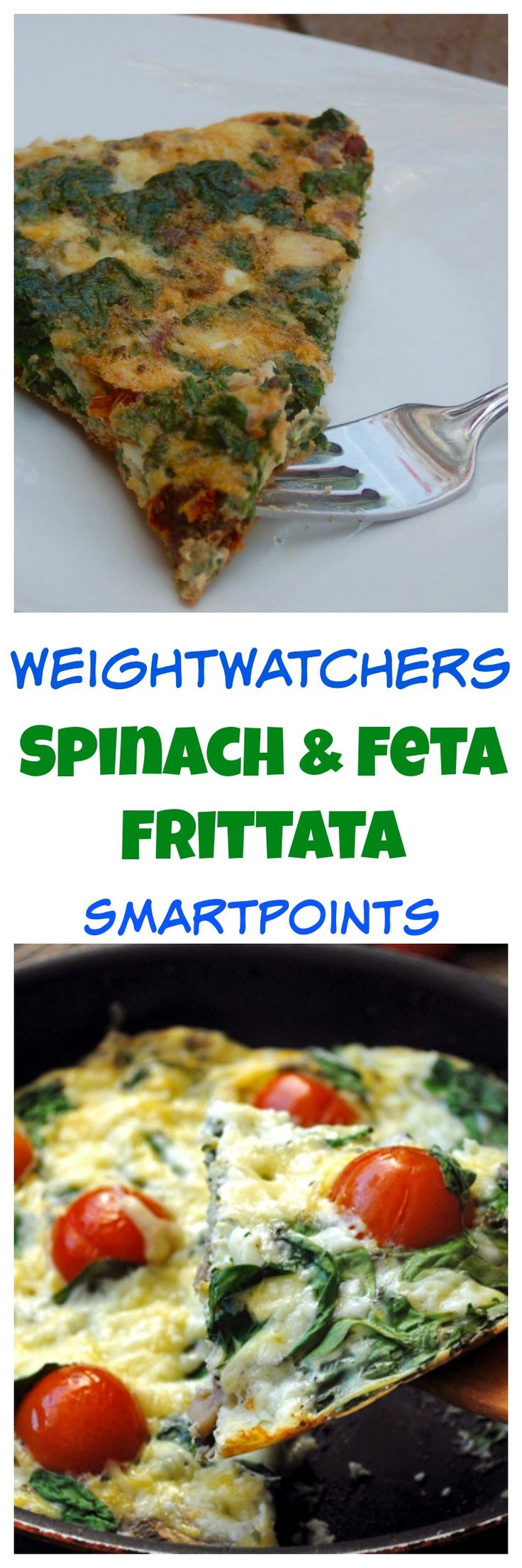 Easy and Delicious Weight Watchers Spinach Frittata Recipe 4 SmartPoints.