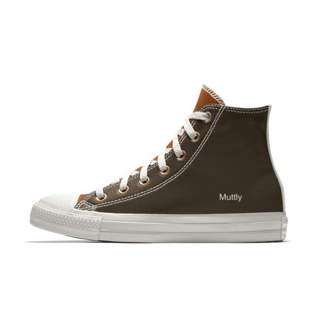 Converse Custom Chuck Taylor Premium Leather High Top Shoe