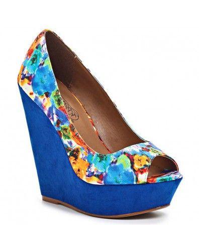 Modré lodičky na platformě http://www.designshoes.cz/modre-lodicky-na-platforme-timeless-ox