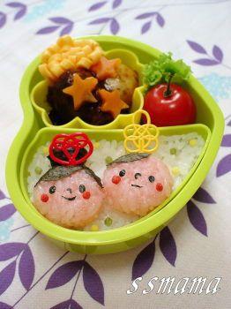 七夕*織姫&彦星のお弁当