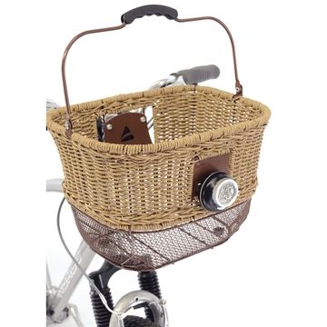 Axiom City-Wicker DLX Front Basket - House of Chain