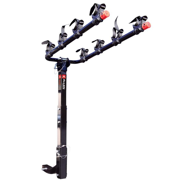 140 lbs. Capacity 4 Bike Vehicle 2 in. Hitch Bike Rack