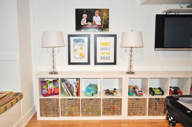 Dixie Delights: toy storage...Ikea??