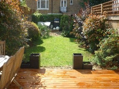 Waterloo & Lambeth house rental - South facing garden - sun trap in the summer!