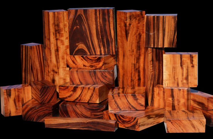 GONCALO ALVES, also known as Tigerwood or South American Zebrawood originates on the East Coast of Brazil. Huge logs up to six feet in diameter are available, but these large logs usually lack the beautiful dark streaking that makes this wood so desirable. Naturally oily, the wood is dense and takes an incredible polish.