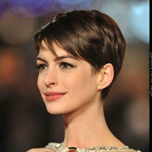 Anne Hathaway pixie