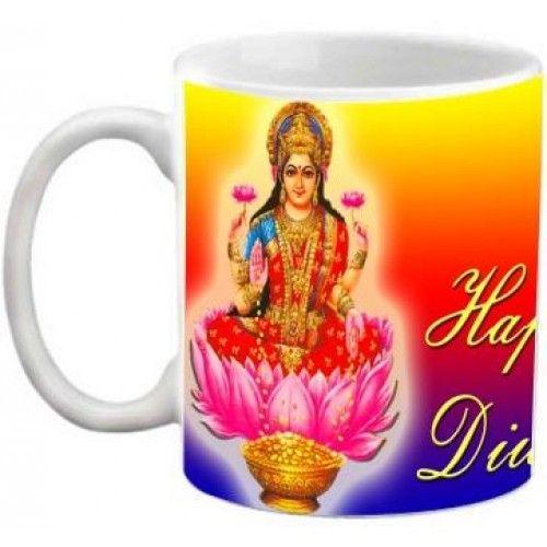 COFFEE MUG - HAPPY DIWALI MAA LAXMI BLESSINGS