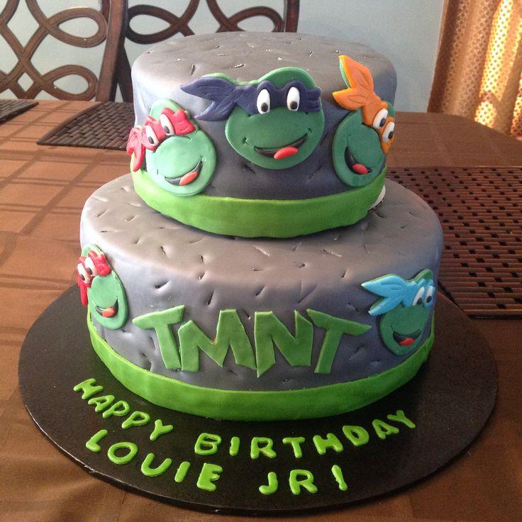 Ninja Turtle cake                                                       …