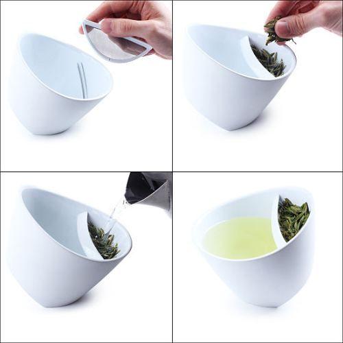no more loose leaves in my tea