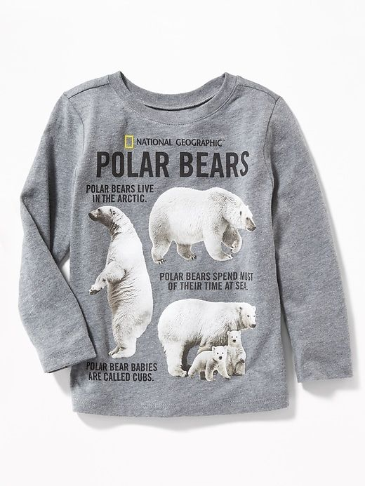 1f1b1e7ea National Geographic™ Polar Bear-Graphic Tee for Toddler Boys ...