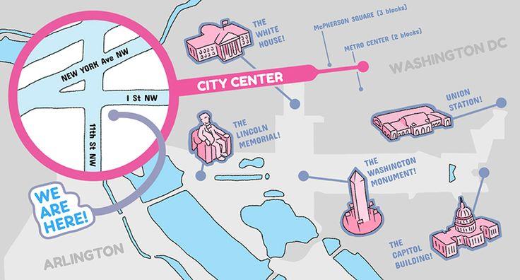 Milk Bar Washington DC Map