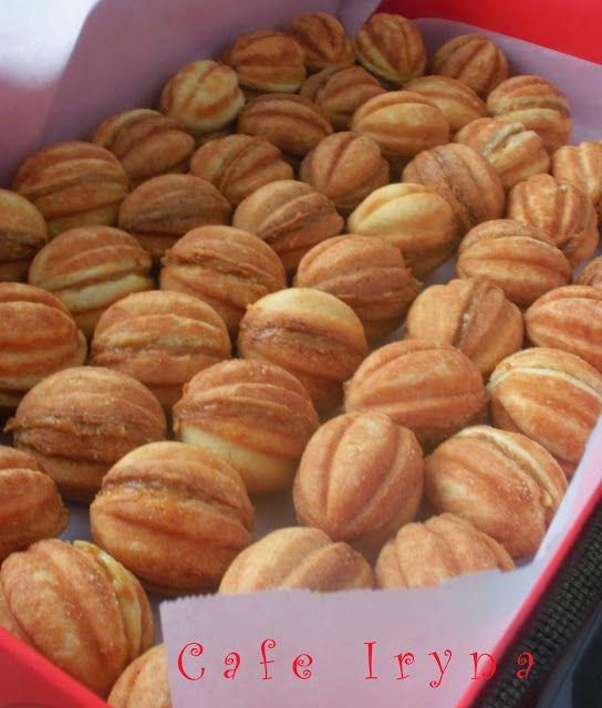 Сafe Iryna: Орешки-старомодное печенье