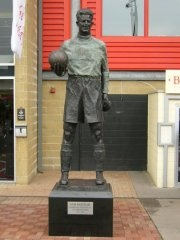Sam Bartram at The Valley, home of Charlton Athletic FC.