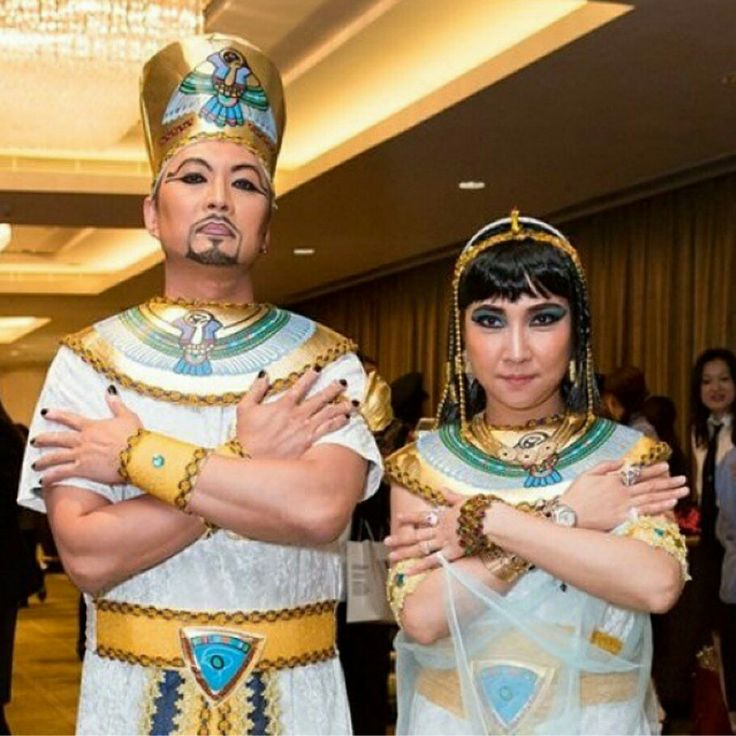 Egyption King and Queen