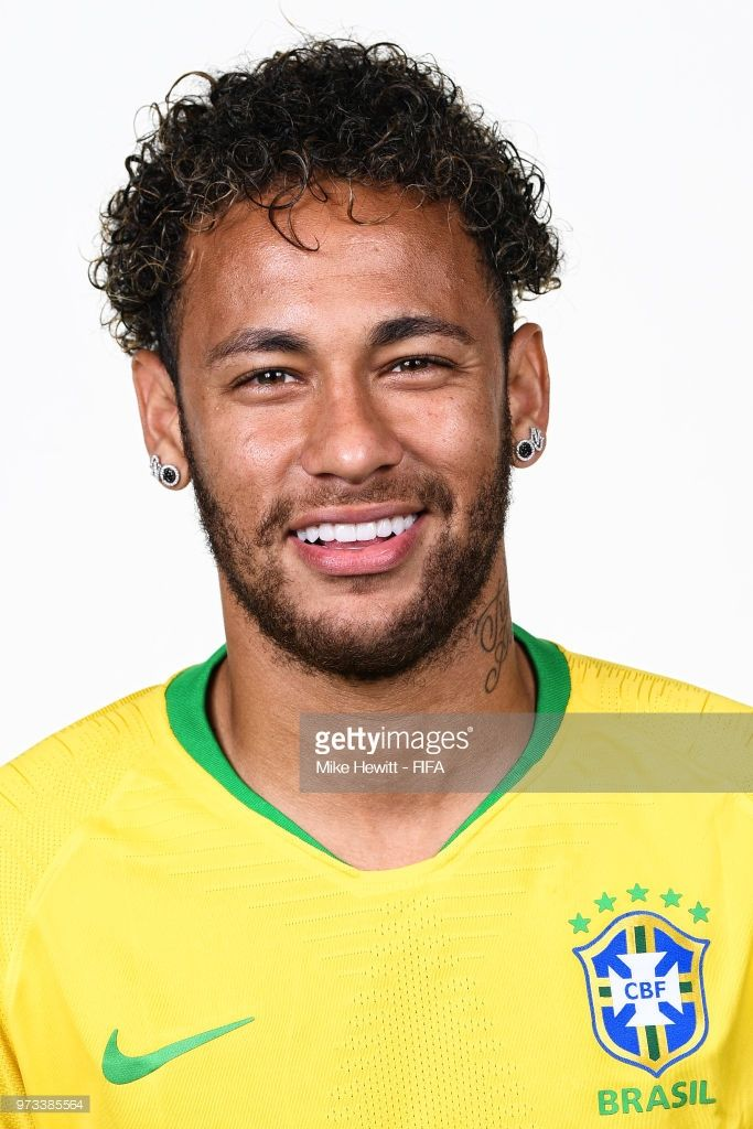 025800bcddf Neymar of Brazil poses for a portrait during the official FIFA World Cup  2018 portrait session at the Swissotel Resort Sochi Kamelia on June 12