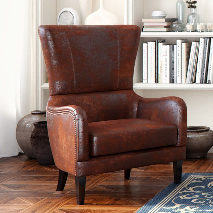 Gordon High Back Wingback Chair Wingback ChairsArm