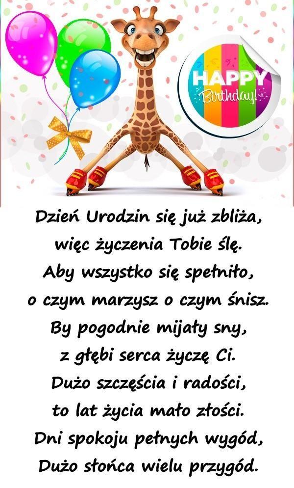 życzenia Na Urodziny Urodziny Besty Wiersz życzenia Na