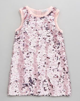 Sequin Shift Dress by Dolce & Gabbana at Neiman Marcus.