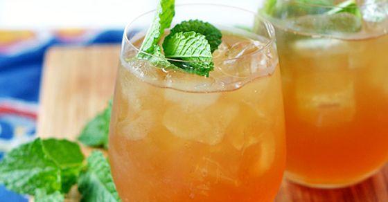 Zdravý, domáci ľadový čaj • Akadémia Krásy
