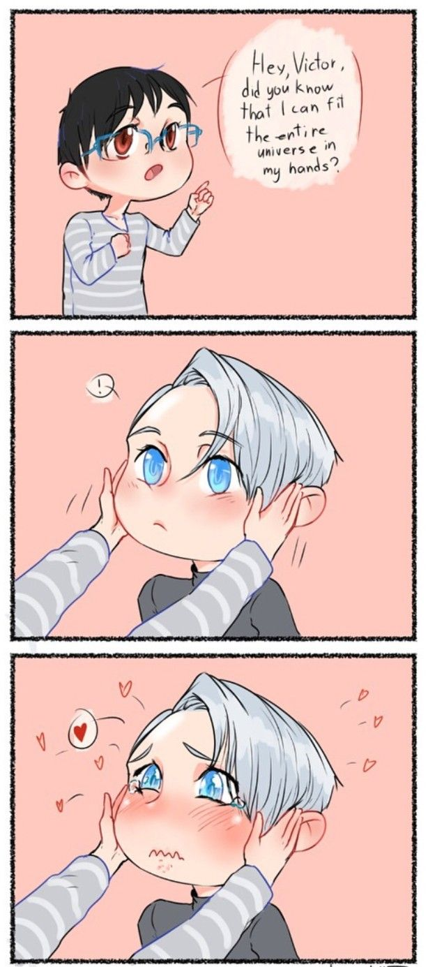 Yuuri is not as innocent as he may seem (don't be fooled)