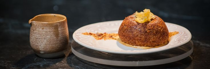 Like the look of Lani and Louzel's malva pudding domes, salted caramel ice cream, candied ginger & salted caramel crumb? Get the recipe here.