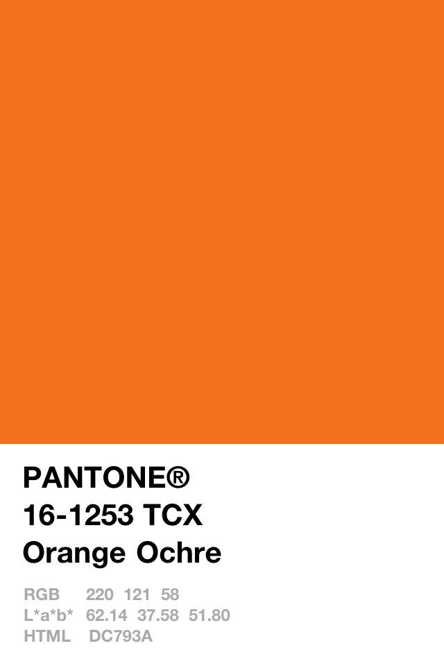 orange ochre