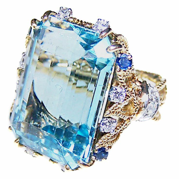 Sterle Aquamarine Ring