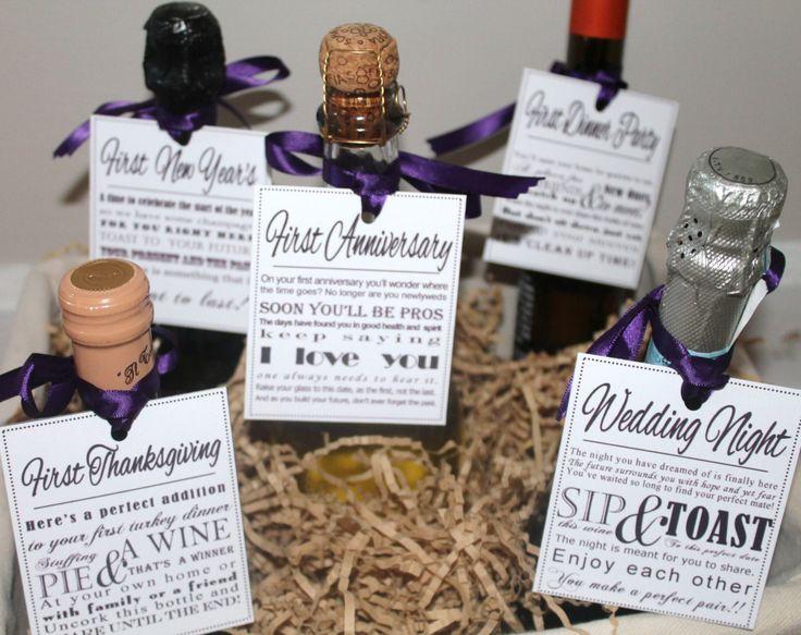 Baby Shower Wine Labels