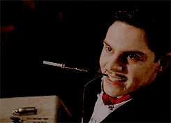 Evan Peters as Mr. James Patrick March in AHS:Hotel