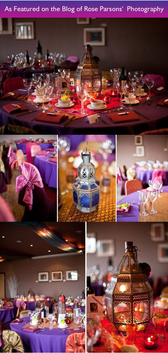 A Dazzling Arabian Night's Wedding Soiree to Remember