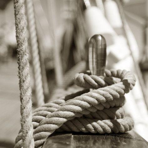 Sail Rope Photographic Print at AllPosters.com