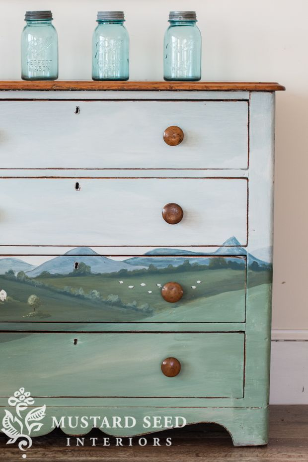 Angie S Landscape Dresser Repainting Furniture Repurposed Furniture