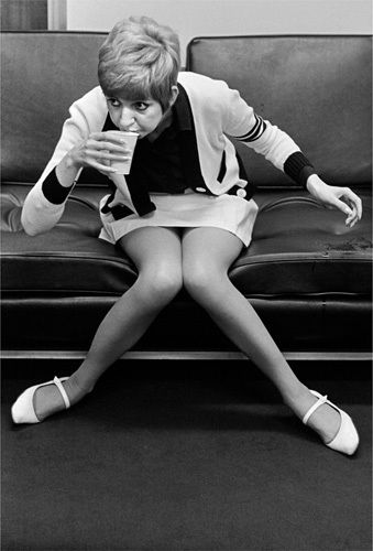 Cilla Black - A Break Betwwen Takes. Love the shoes