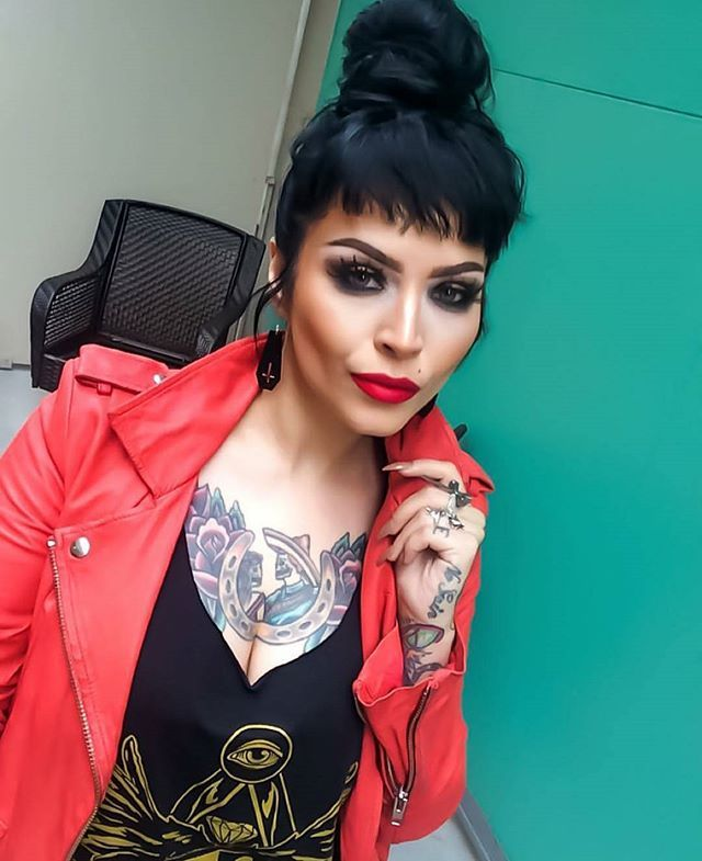 """Corvid Crest"" Vest Currently on sale at www.crmc-clothing.co.uk | WE SHIP WORLDWIDE Model - @sarabellemarcoux #fashionstatement #fashiongram #fashionista #instastyle #stylegram #jewelry #handmadejewelry #fashionjewelry #instajewelry #instagrunge #fashionoftheday #alternativefashion #dailyfashion #grungefashion #grunge #styles #style #alternativegirl #mua #makeup #makeupartist #beautiful #edgarallanpoe #tattooedwomen #instalike #instafollow #igers #love #instagood #picoftheday"