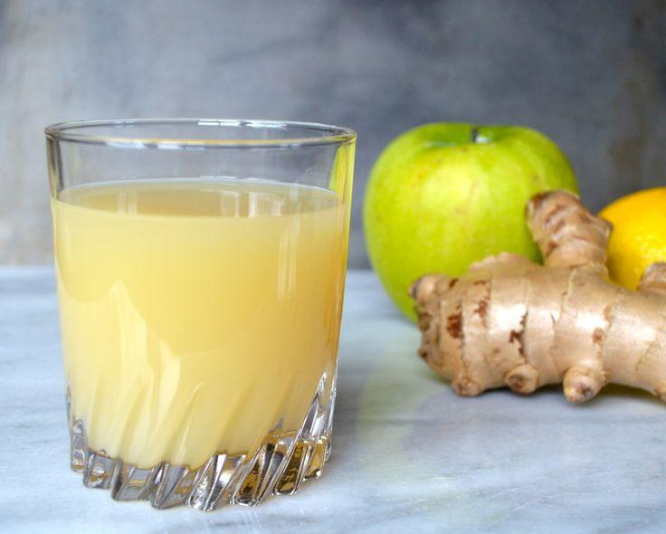 Apple Lemon Ginger Juice — a balance of tastes