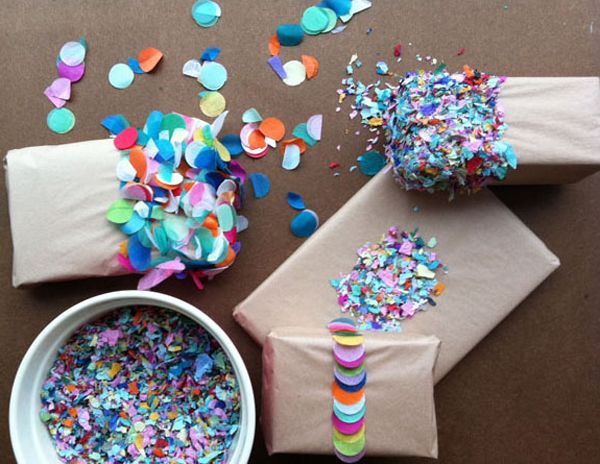 My current gift-wrapping obsession – picture perfect DIY (do it yourself) packaging. Always a fan of craft paper, colorful hand-cut details really spice up an already crafty looking gift. With a glue stick, fabric, even yarn – a package looks …