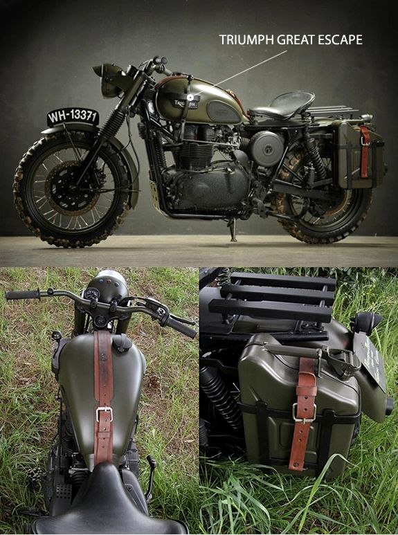 TRIUMPH GREAT ESCAPE | BY DRAGS & RACING