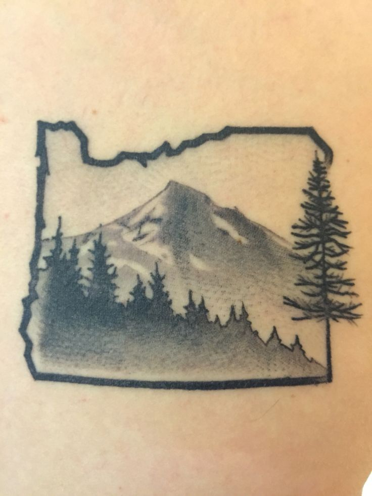 Oregon tattoo I know who has is !!! My brother!!!